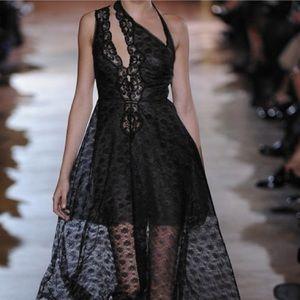 Stella McCartney Caroline Cutout Lace Runway Dress